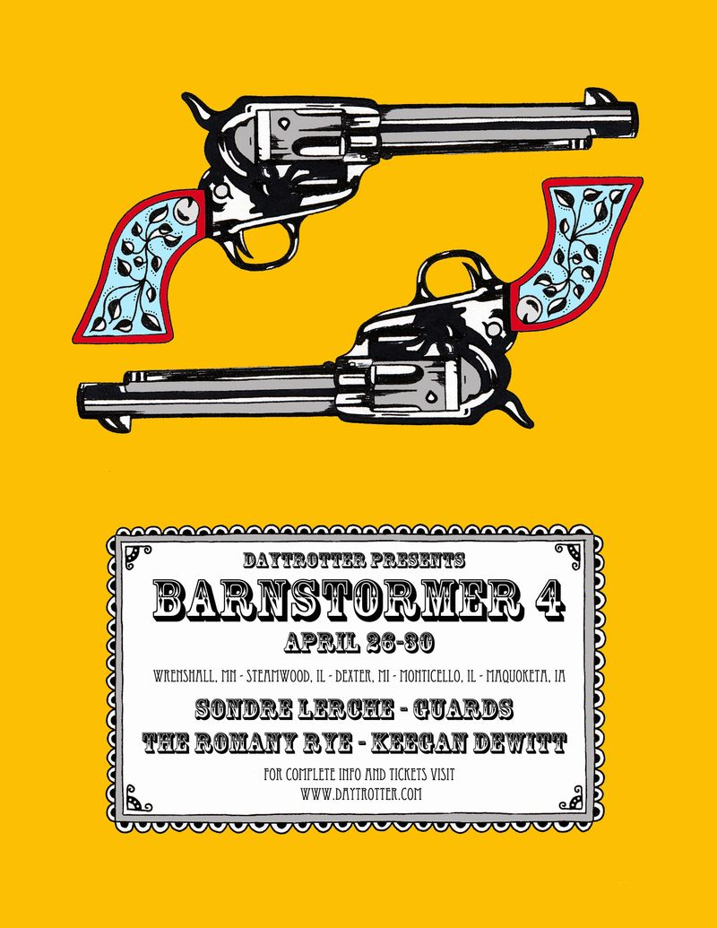 Barnstormer 4 flier full color