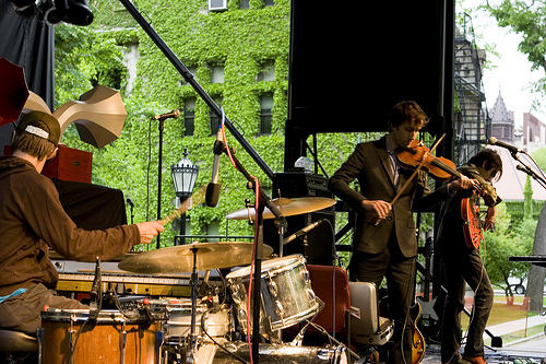 andrew bird live hyde park university of chicago