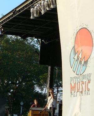 the walkmen live chicago pitchfork music festival
